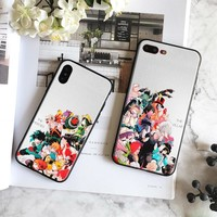 Boku no my Hero Academia League of Villains Soft Silicone Phone Case cover For Apple iPhone 5 5s Se 6 6s 7 8 Plus X XR XS MAX