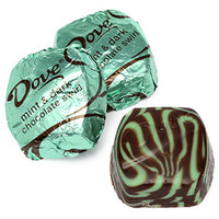 Dove Mint and Dark Chocolate Squares: 30-Piece Bag