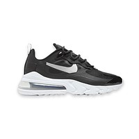 Nike Women's Air Max 270 React Black Metallic Silver