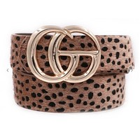 Material Girl Pleather Belts