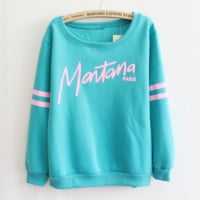 Fashion Letters Printed Sweatshirt