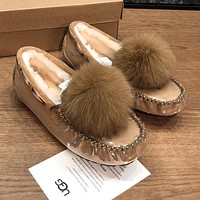 UGG Fashionable Hot Sellers Casual Ladies Wool Flats Shoes-3