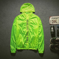 VANS Off the Wall Hooded Waterproof  Jacket