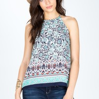 Under The Sun Halter Top