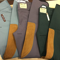 Tailored Sportsman Vintage Trophy Low Rise Front Zip Breeches – 1967 - Brown