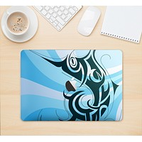 """The Vector Blue Abstract Fish Skin Kit for the 12"""" Apple MacBook (A1534)"""