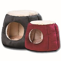 Autumn And Winter Cat Litter Four Seasons General Semi-Enclosed Cat House Folding Kennel Pet Warming Supplies Tree Pier