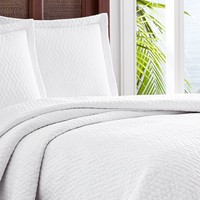 Tommy Bahama | Solid Catalina Full/Queen Quilt Set - Multi | Nordstrom Rack