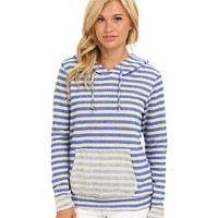 Gabriella Rocha Striped Terry Cloth Hoodie