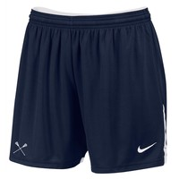 NIKE WOMENS FACE-OFF GAME SHORT - NAVY