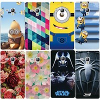 Painted Phone Case for Samsung Galaxy Trend S Duos GT S7562 S7560 Trend Plus S7582 S7580 Printing Drawing Cover Protective Shell