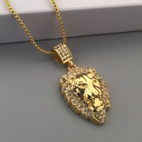 Gift Stylish New Arrival Jewelry Shiny Hot Sale Fashion Hip-hop Club Necklace [6542769155]