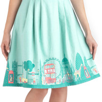 Been There, London That Skirt | Mod Retro Vintage Skirts | ModCloth.com