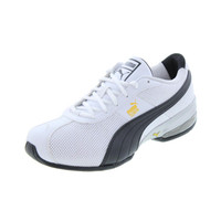 Puma Mens Cell Turin Perf Faux Leather Running, Cross Training Shoes