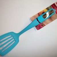 "KitchenAid 14"" Nylon Slotted Kitchen Turner (Turquoise Blue)"