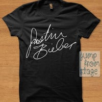 FAST SHIPPING Justin Bieber Sign T shirts