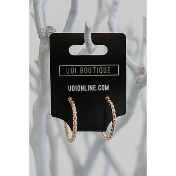 Never Come Around Earrings - Gold