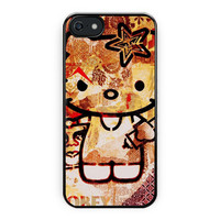 Obey Hello Kitty Design Love Cute iPhone 5/5S Case