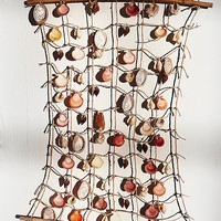 Free People Vintage 1970s Shell Wall Décor