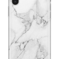 Recover White Marble iPhone X Case   Nordstrom