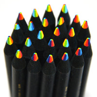 Rainbow Pencil Black : cool gifts for kids : Stubby Pencil Studio