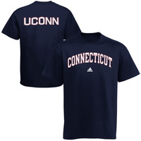UConn Huskies adidas Relentless T-Shirt – Navy Blue