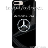 Best COVER CASE IPHONE 7/ 7 Plus Print Design Mercedes Benz Print Black Art