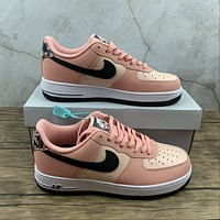 Morechoice Tuhz Nike Air Force 1 Low 07 Le Japanese Cherry Blossoms Sneakers Casual Skaet Shoes Cu6649-100
