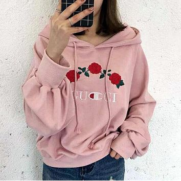 Winter Shirt Fashion Print Hoodie Short Top Sweater Sweatshirt Coat