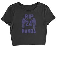 Black Mamba Rest In Peace Cropped T-Shirt