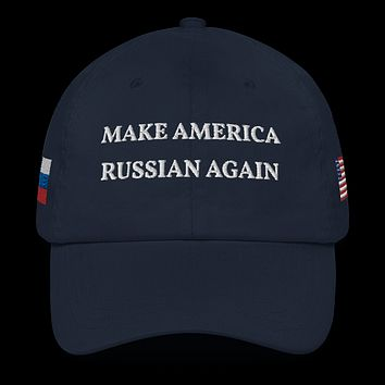 Official Make America Russian Again Hat - Blue