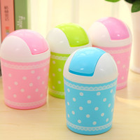 Storage Cute Lovely Stylish Mini Lace Creative Fashion Storage Bin = 4877794180