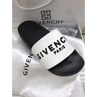 GIVENCHY Summer Popular Women Men Casual Slippers Sandals Shoe White I/A