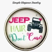 Jeep Hair Snaps 20mm for Snap Jewelry