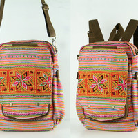 Gypsy Backpack Diaper Bag, Travel/ Student/ College/ Teen Boho Hippie