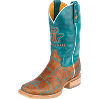 Women's Tin Haul Barb'D Wire Cowgirl Boots