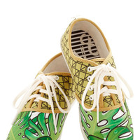 Dolce Vita Statement Quirk It Sneaker in Palm Leaves