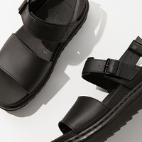 Dr. Martens Voss Black Leather Sandal | Urban Outfitters