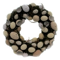 Home & Garden Speckled Egg Wreath Easter Decor - AHN003