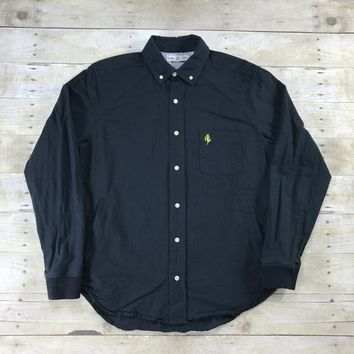 FiveFour x Mark McNairy Navy Blue Shirt Jacket Mens Size Medium
