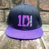 1D One Direction Snapback Customized with by TheCoutumeShop