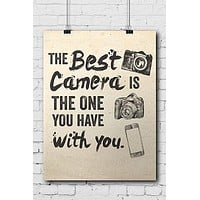 The Best Camera Poster - POSTER003