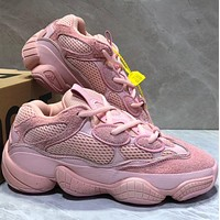 Adidas YEEZY BOOST ZX500 Fashion Women Men Casual Sport Shoes Sneakers Pink I/A