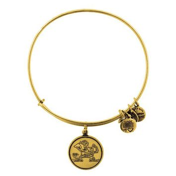 Alex and Ani University Of Notre Dame® Mascot Charm Bangle - Russian Gold
