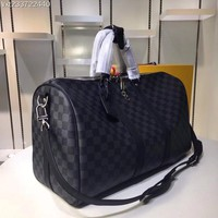 Beauty Ticks Louis Vuitton Lv Monogram Canvas Keepall 50 Shoulder Bag Travel Bag #1344