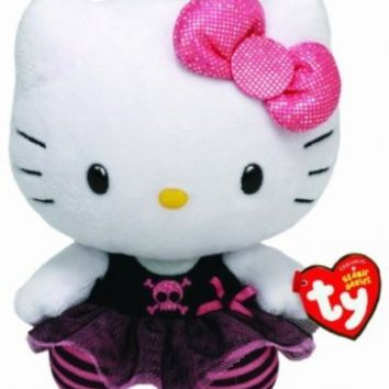 Ty Beanie Babies Hello Kitty Plush, Punk (Discontinued by manufacturer)