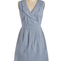 Tulle Clothing Americana Sleeveless A-line All Eyes on Euchre Dress