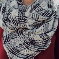 Latte Lover's Infinity Scarf
