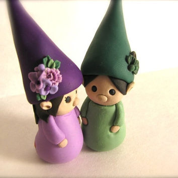 READY to SHIP Gnome Love by theaircastle on Etsy