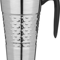 Trudeau Majestic 24-Ounce Travel Mug, Stainless Steel